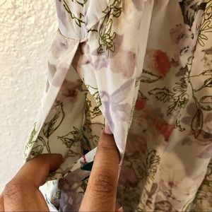 Anthropologie Pants - Anthropologie romper floral with pockets